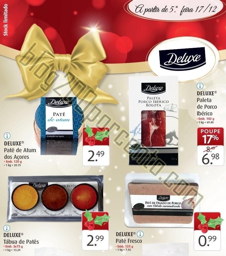 Antevisão Folheto LIDL Natal Deluxe promoções a