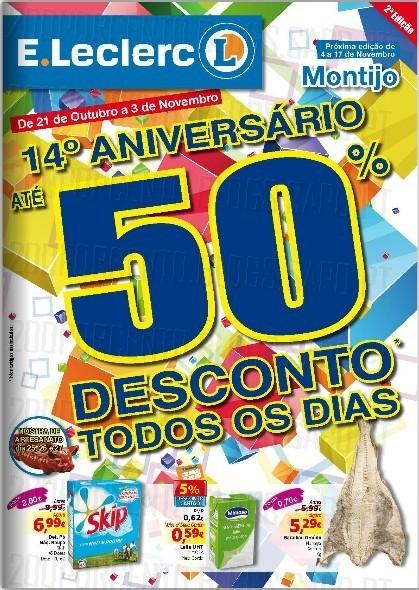 Antevisão Folheto | E-LECLERC | Montijo , de 4 a 17 Novembro