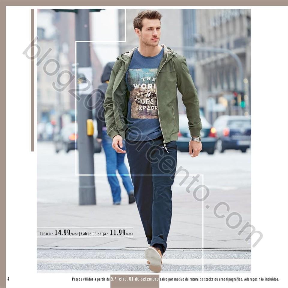 Antevisão Novo Folheto LIDL Moda Outono Inverno a partir