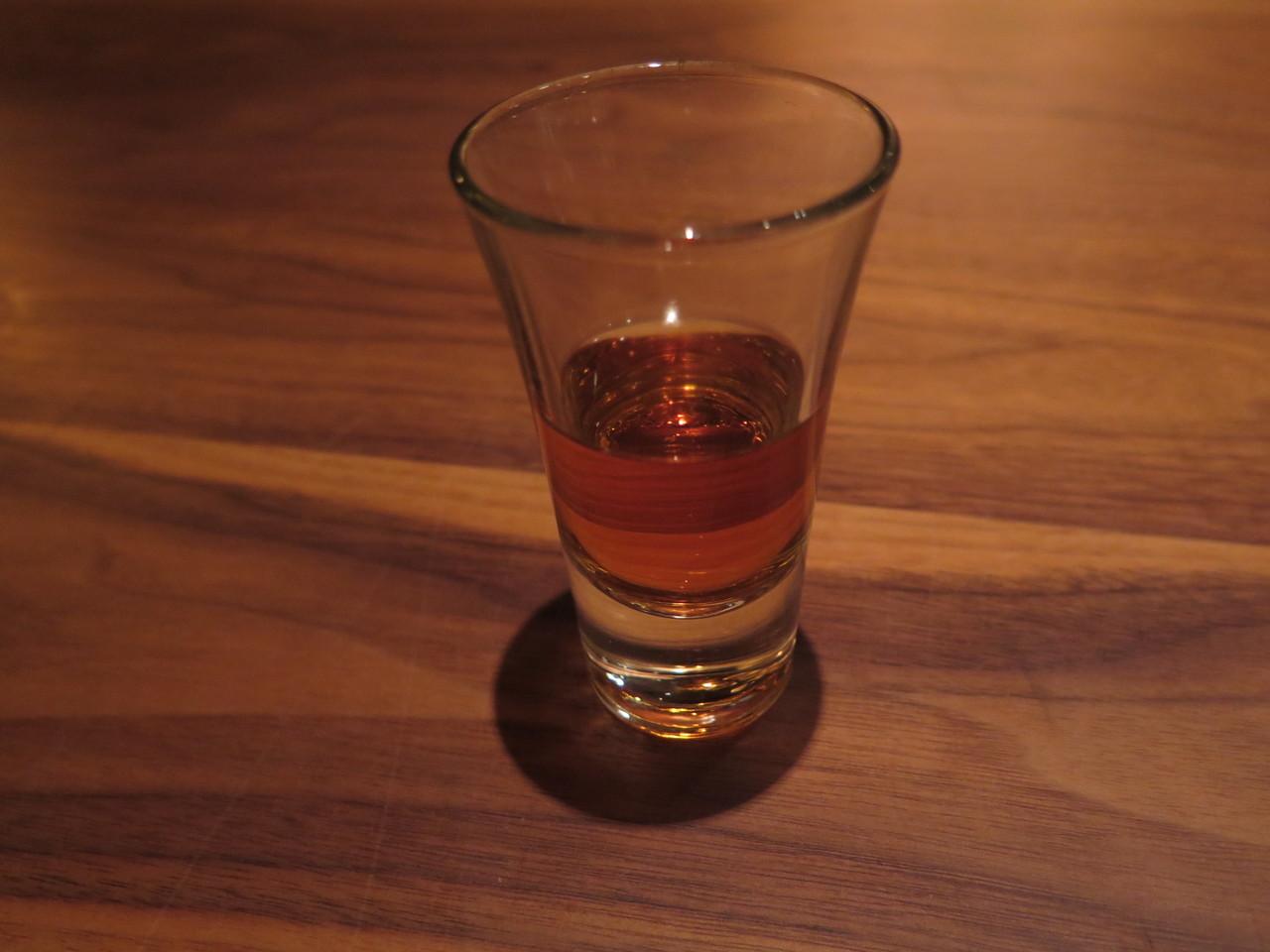 Aged sake