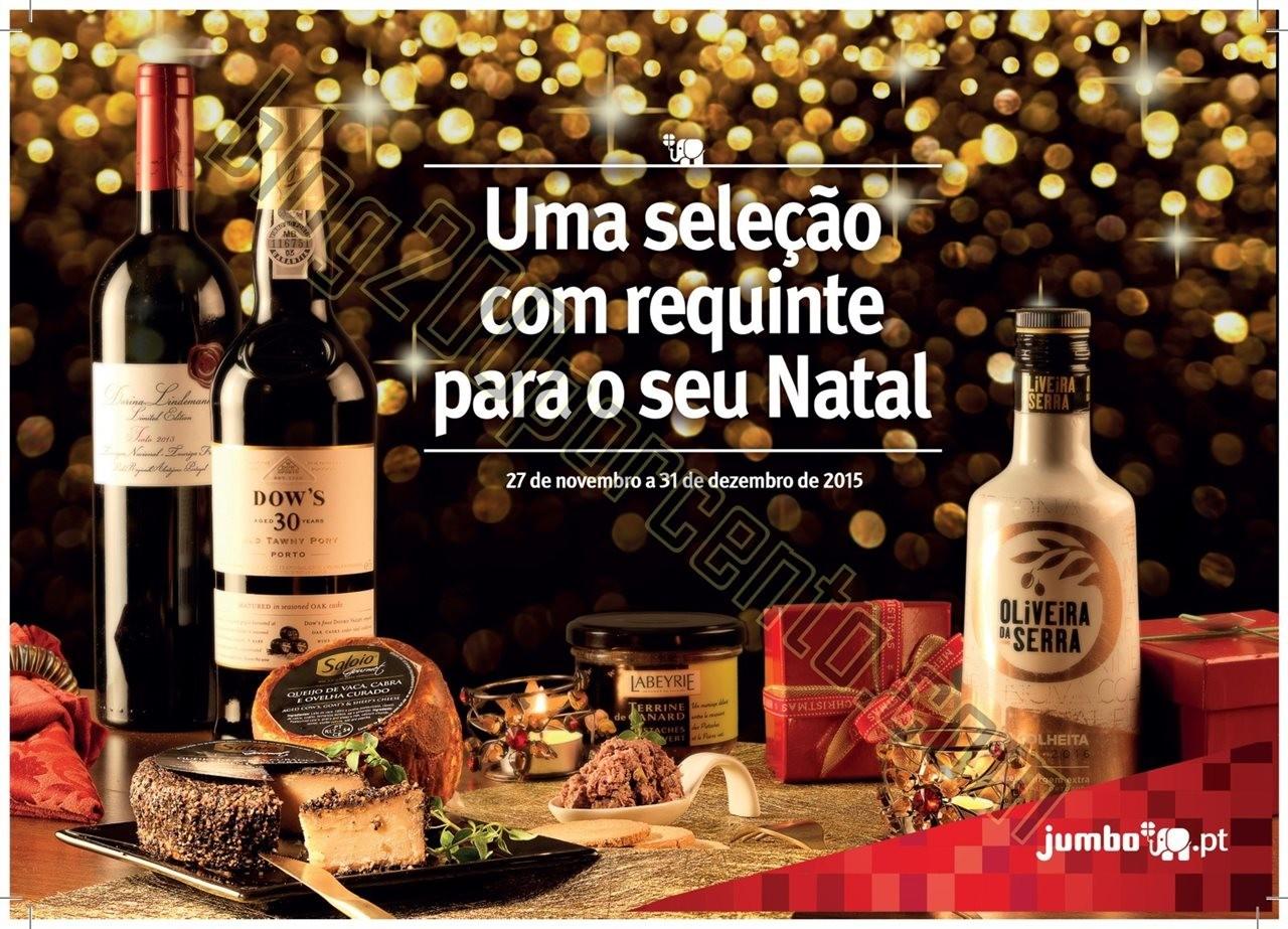 Novo Folheto JUMBO Natal Gourmet de 27 novembro a