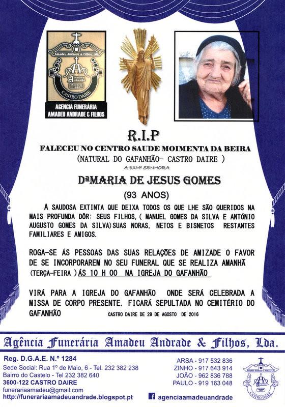 RIP- DE MARIA DE JESUS GOMES-93 ANO.jpg