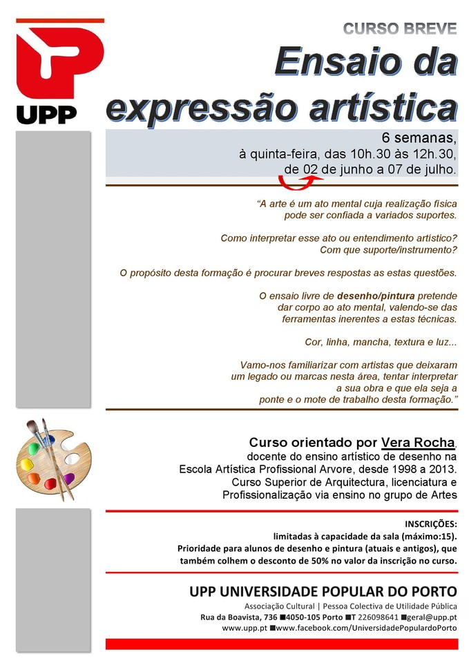 UPP Ensaio expressão artística1