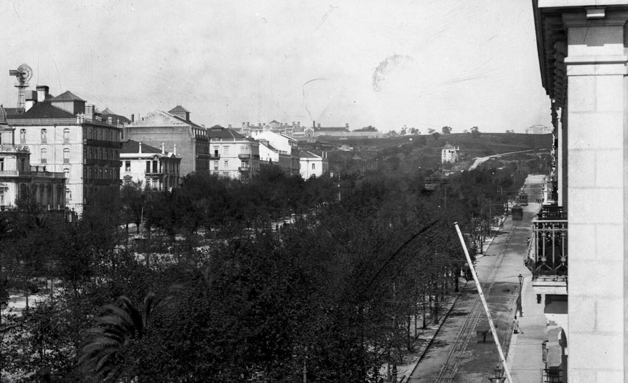 Avenida, Lisboa (A. Cunha, ante 1916)