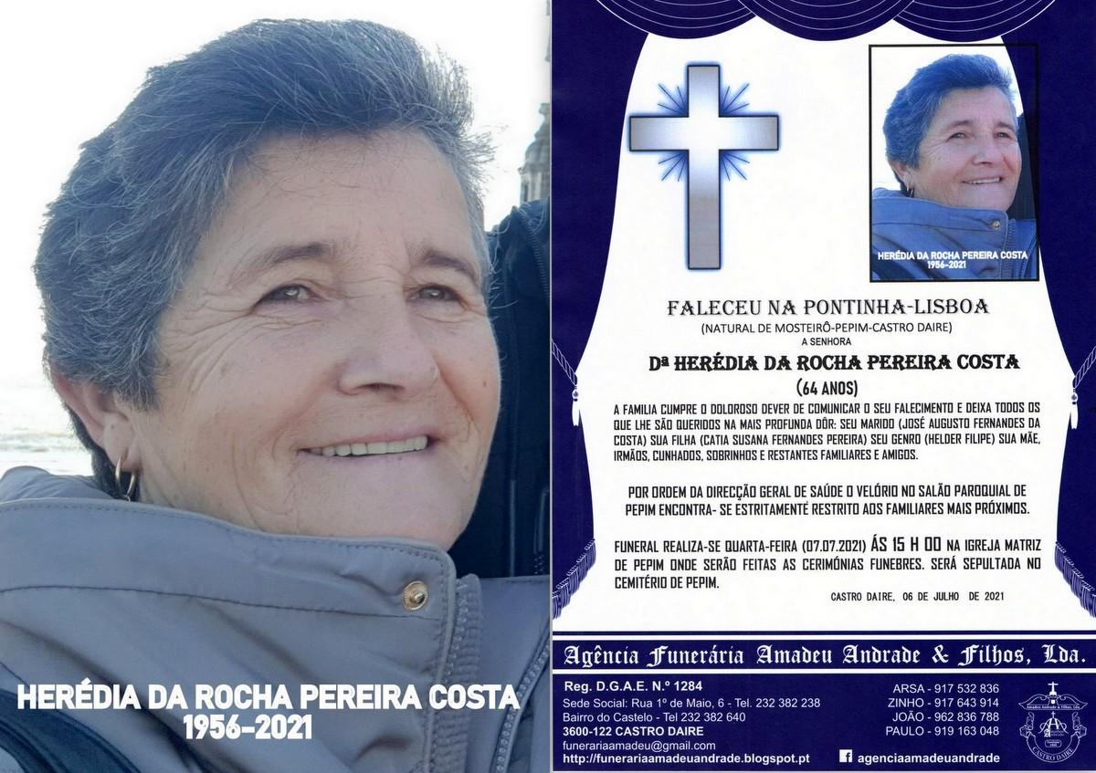 FOTO RIP   HERÉDIA DA ROCHA PEREIRA DA COSTA-64 A