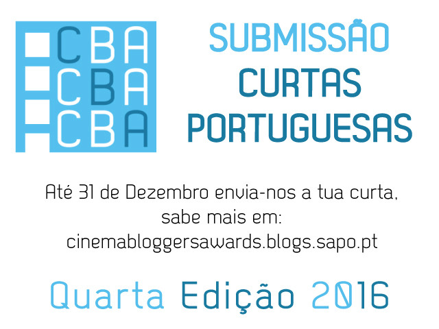 Submissão Curtas Portuguesas CBA