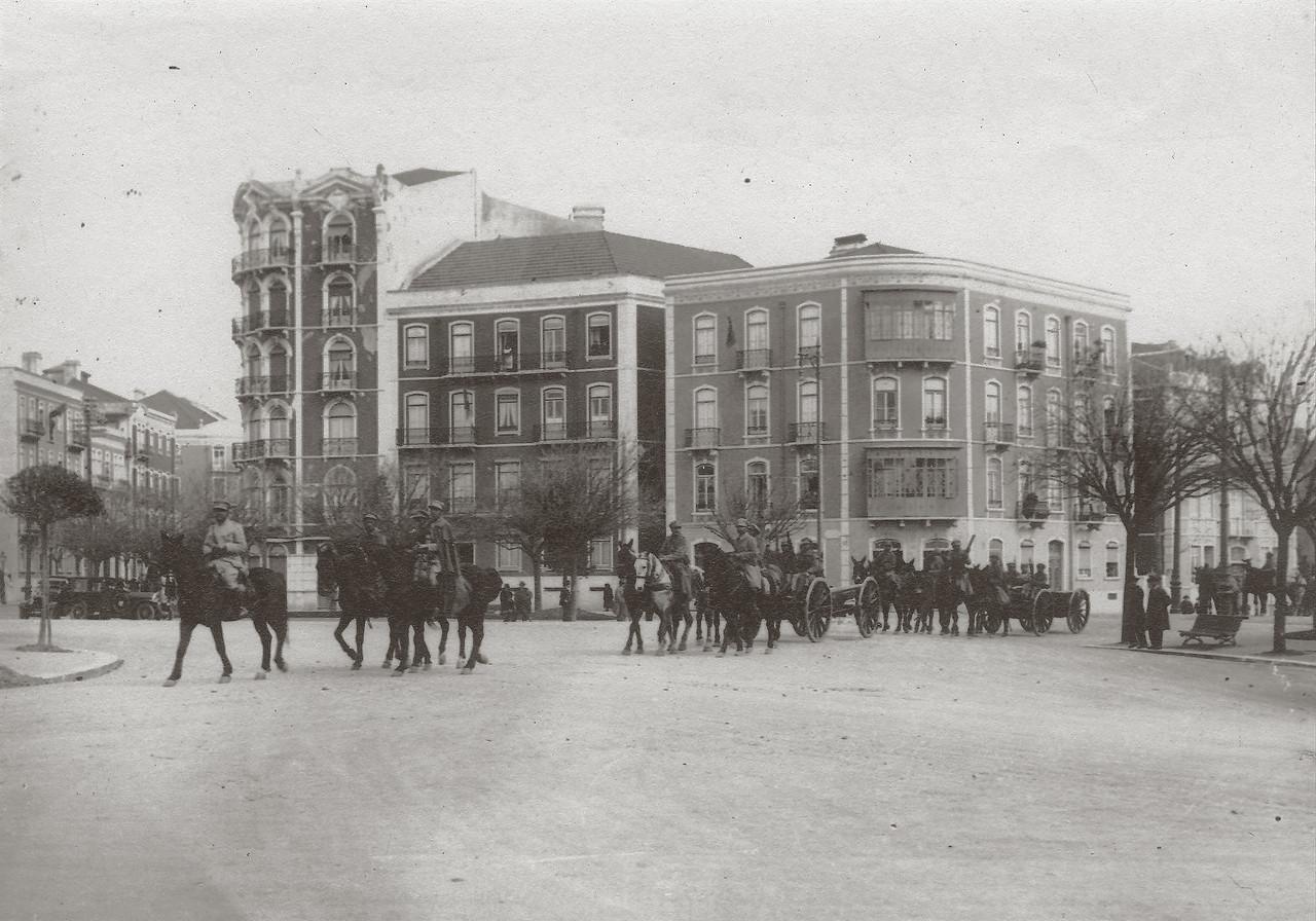 Revolta de Fevereiro, Saldanha (Anón., 1927)