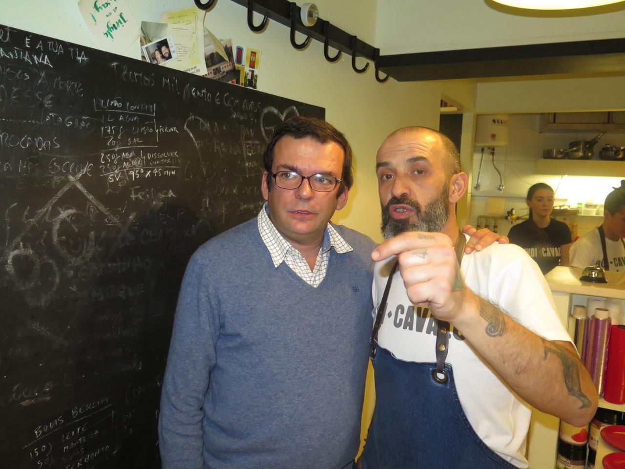 Joaquim Arnaud e Hugo Brito