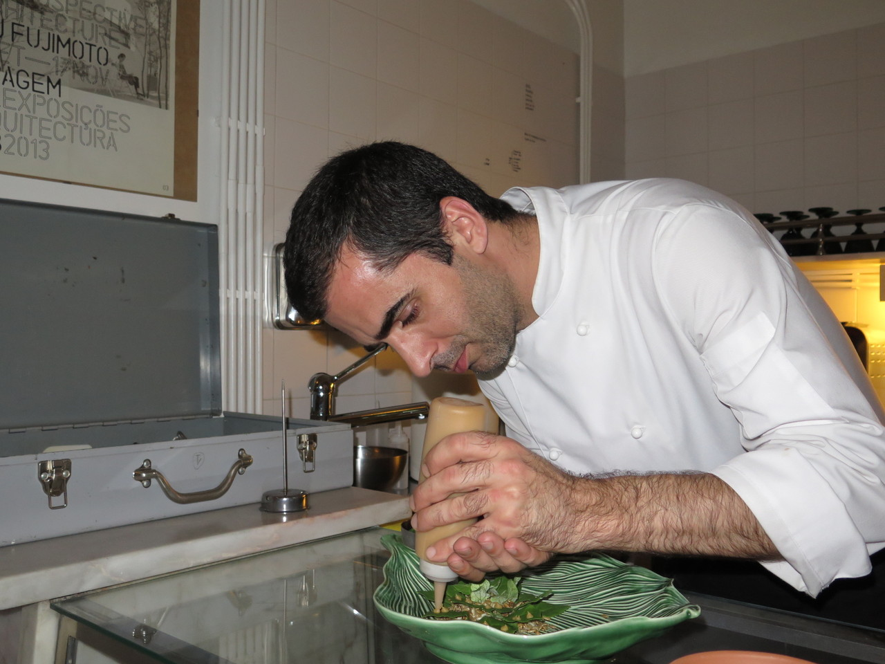 Tiago Feio e o miso branco