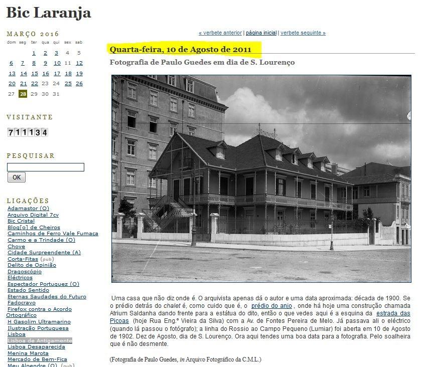 Epifania do dia de S. Lourenço, Biclaranja. 10/8/2011