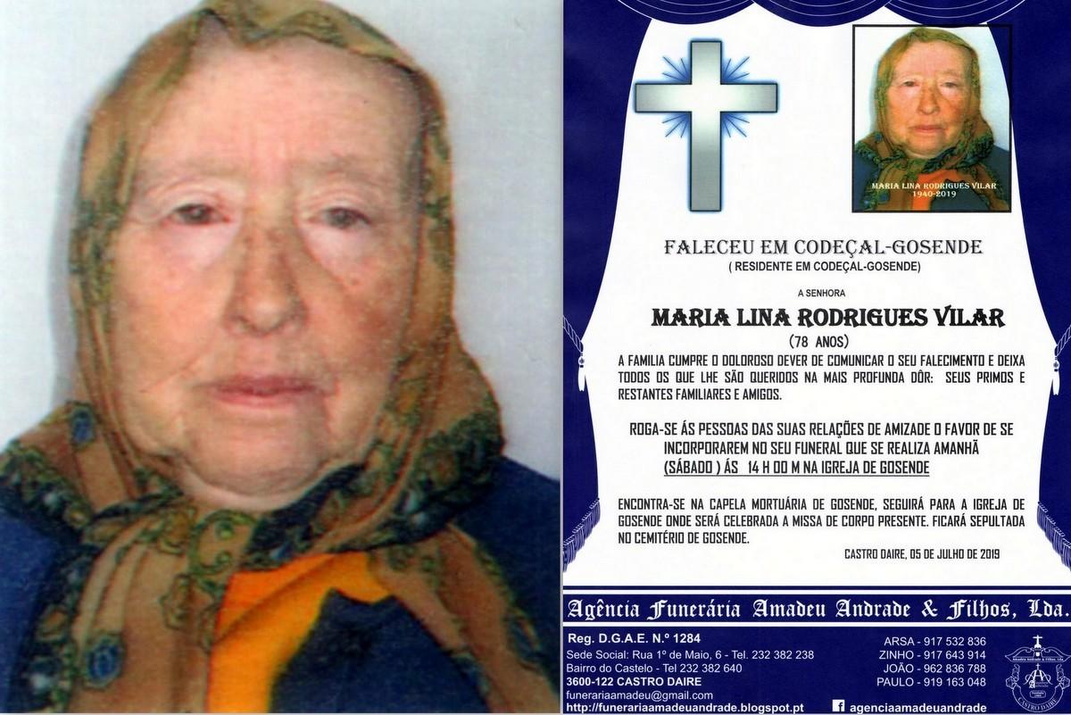 FOTO RIP DE MARIA LINA RODRIGUES VILAR-GOSENDE.jpg