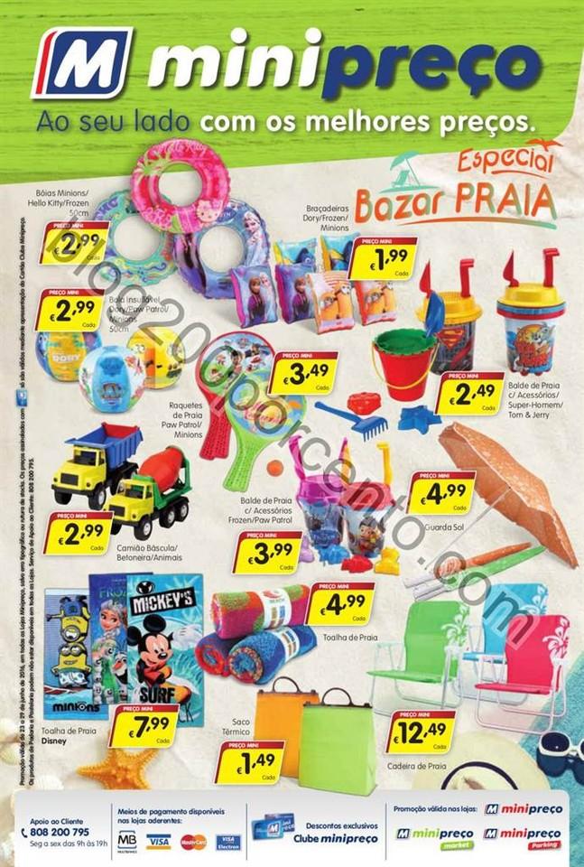 Antevisão Folheto MINIPREÇO Promoções de 23 a
