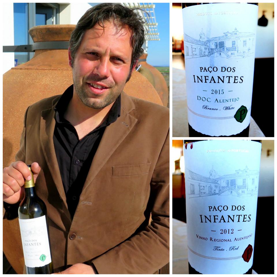 Enólogo Tiago Alves e os vinhos Paço dos Infantes