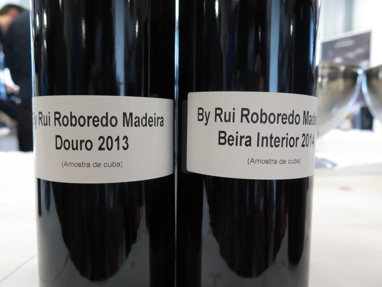 By Rui Roboredo Madeira Douro tinto 2013 (amostra de cuba) / By Rui Roboredo Madeira Beira Interior tinto 2014 (amostra de cuba)