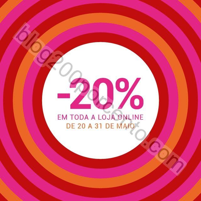 20% de desconto PERFUMES & COMPANHIA de 20 a 31 ma