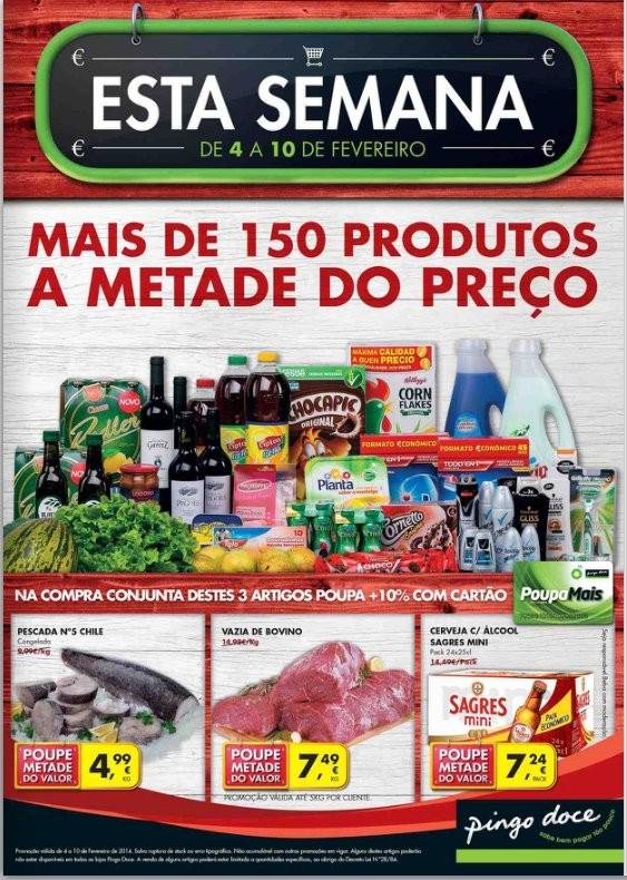 Novo folheto | PINGO DOCE | de 4 a 10 fevereiro - Online