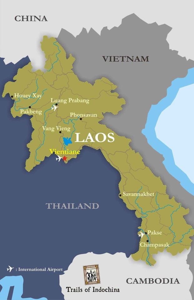Mapa Laos3