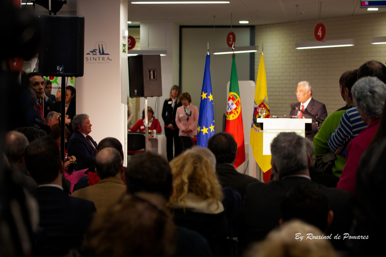 Inauguração da Loja do Cidadão de Agualva-Cacé