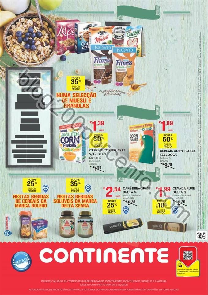 Antevisão Folheto CONTINENTE Extra Alimentação