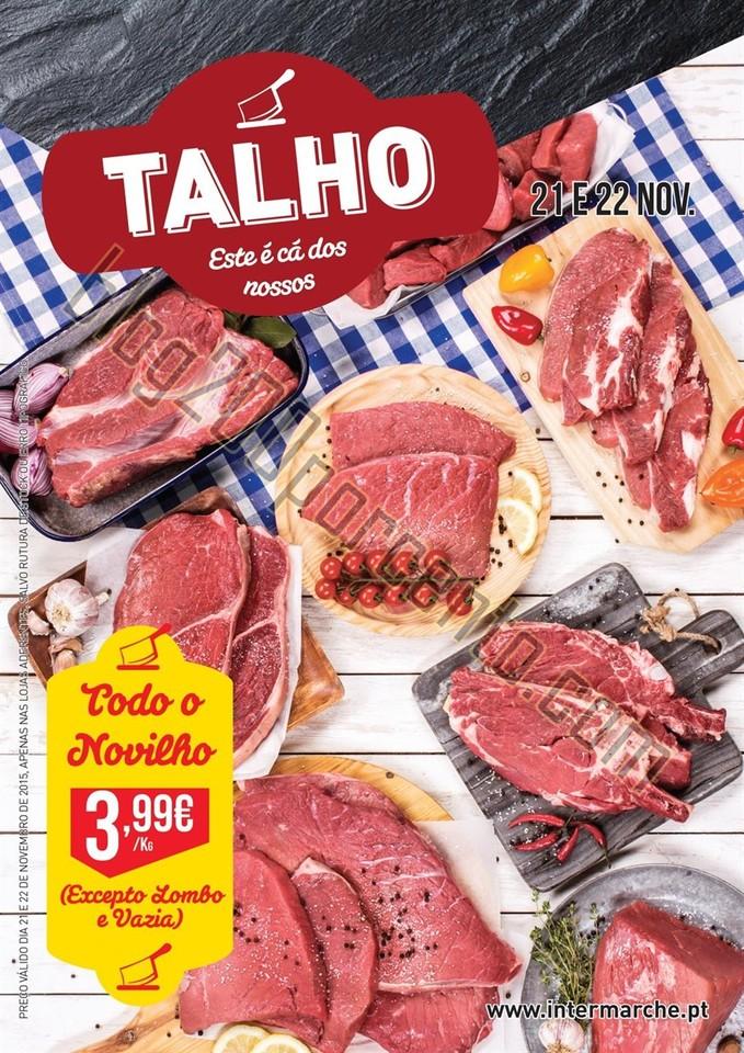 Novo Folheto INTERMARCHÉ promoções dias 21 e 22