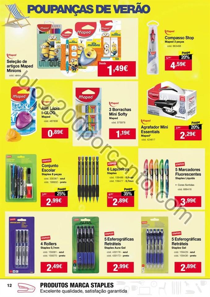 Antevisão Folheto STAPLES promoções de 28 julho
