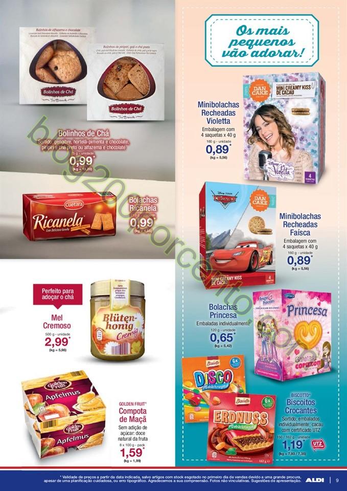 Antevisão Folheto ALDI promoções a partir de 2