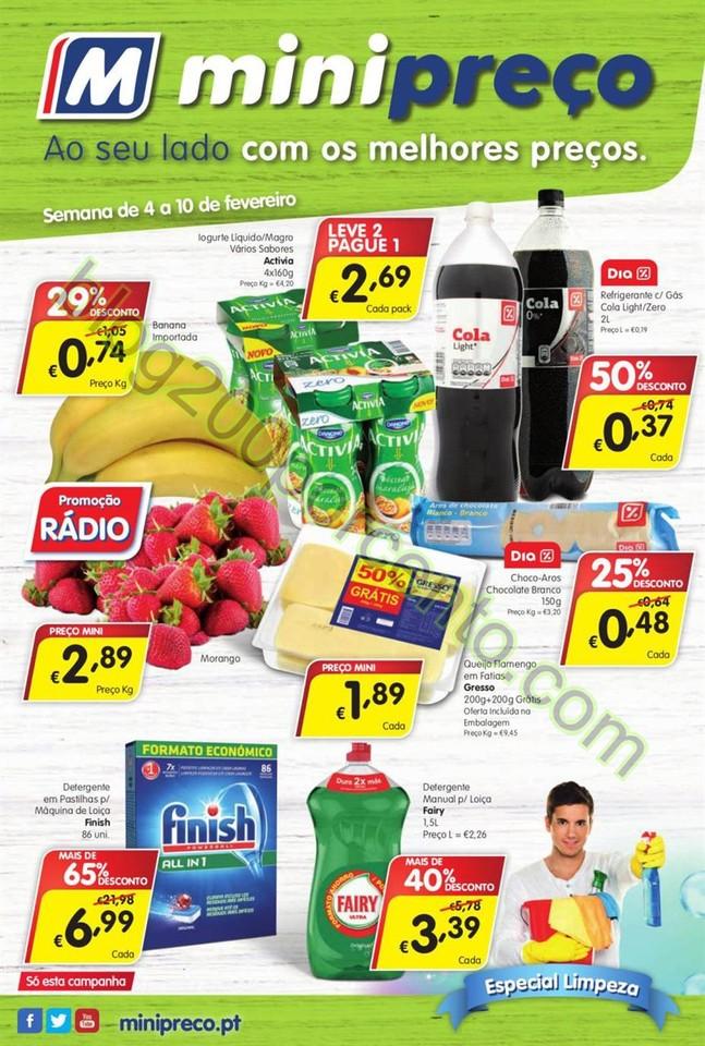 Antevisão Folheto MINIPREÇO Nacional promoções