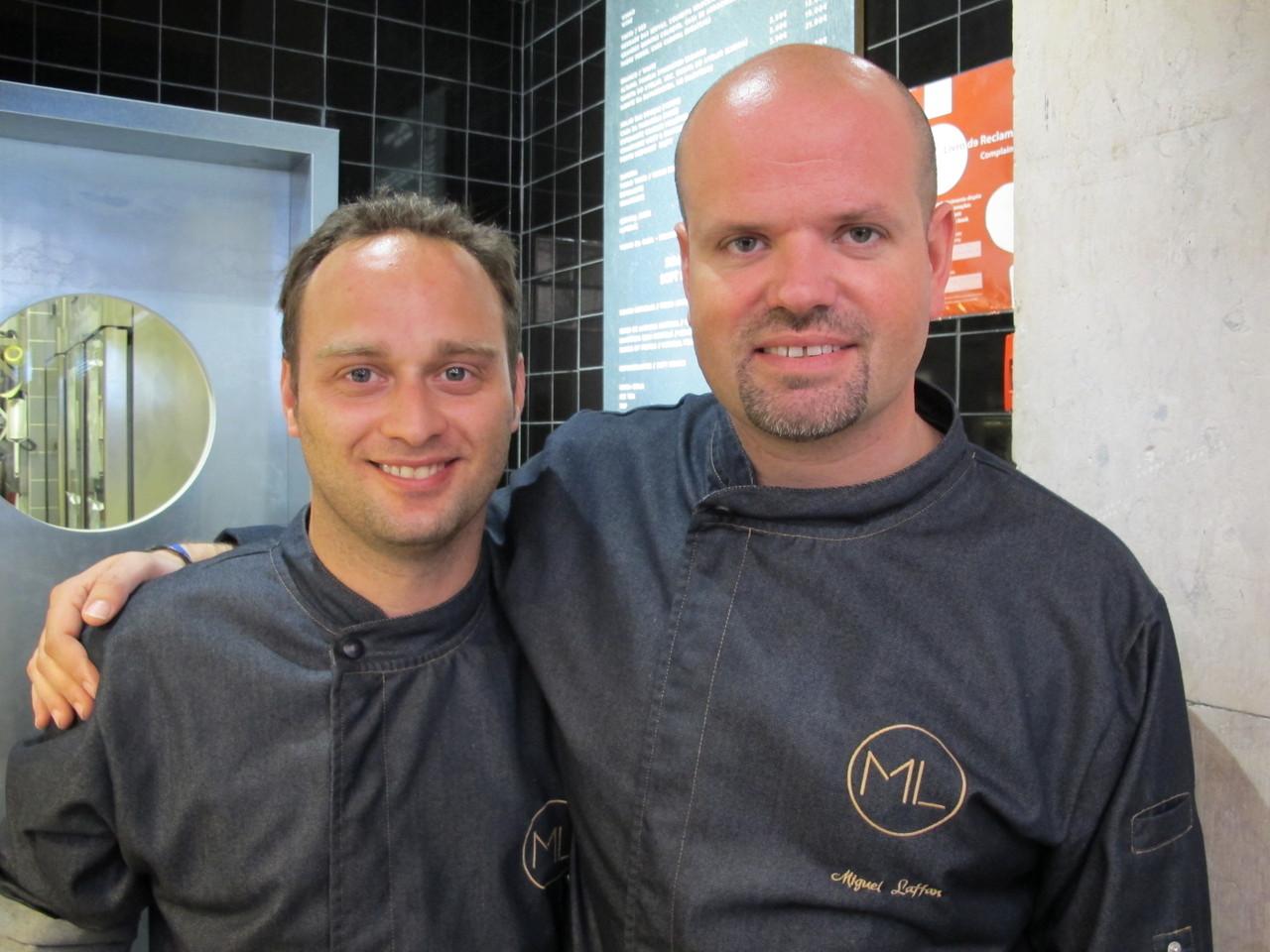 João Oliveira e Miguel Laffan