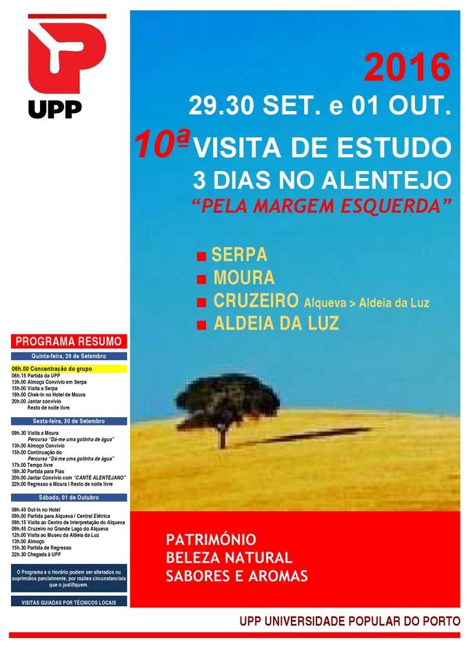 UPP Alentejo Programa