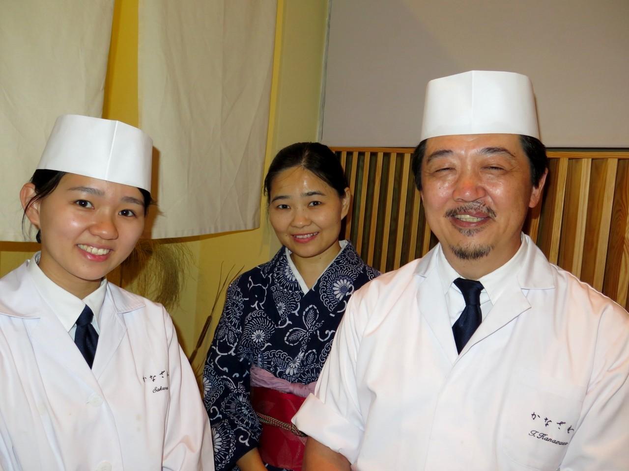 Sakura, Kayo e Tomoaki, os Kanazawa em Lisboa