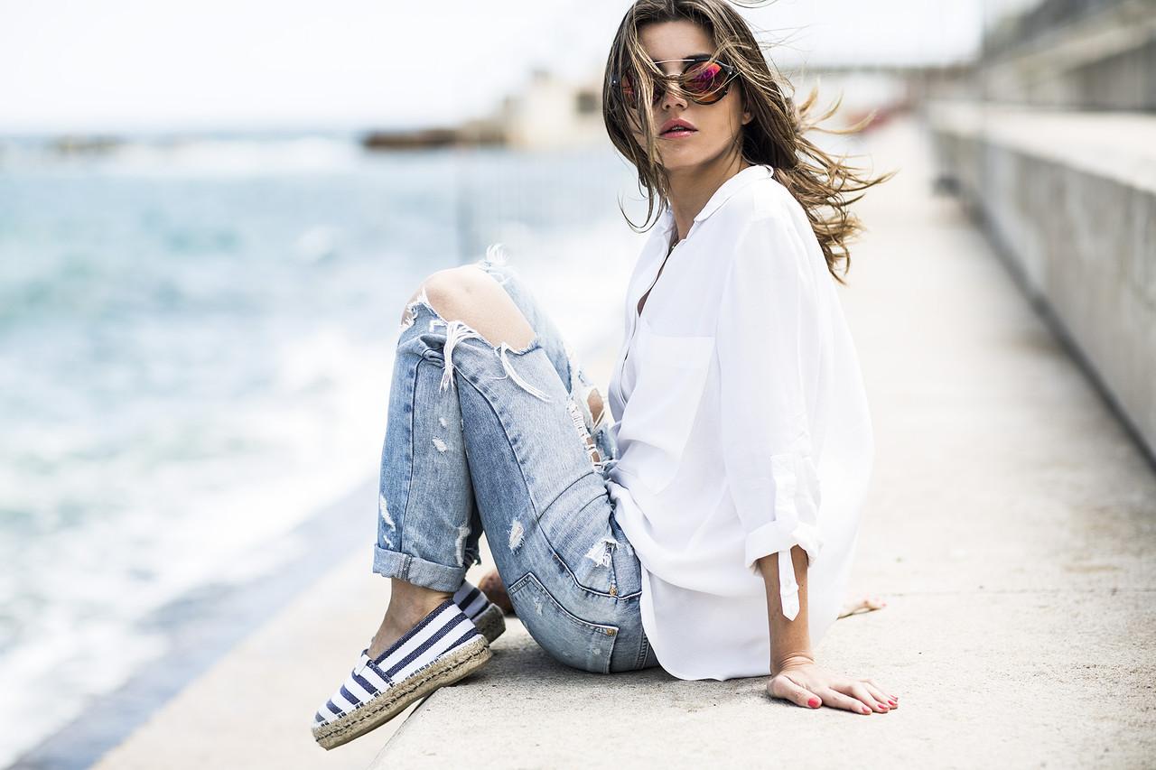 lovely pepa alexandra pereira white shirt jeans.jp