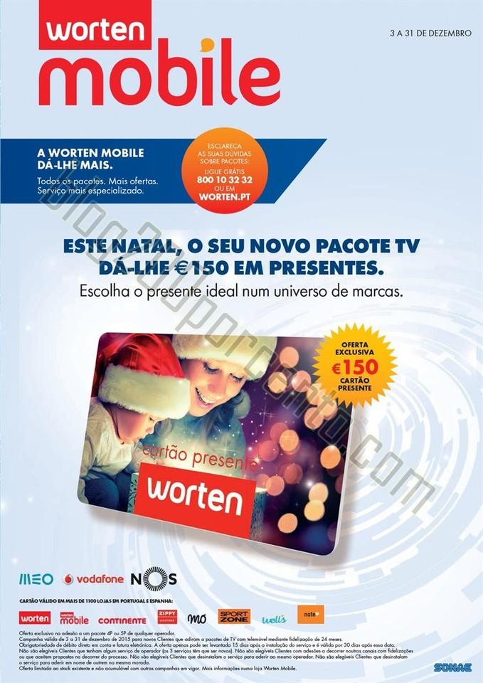 Novo Folheto WORTEN Mobile promoções de 3 a 31 d