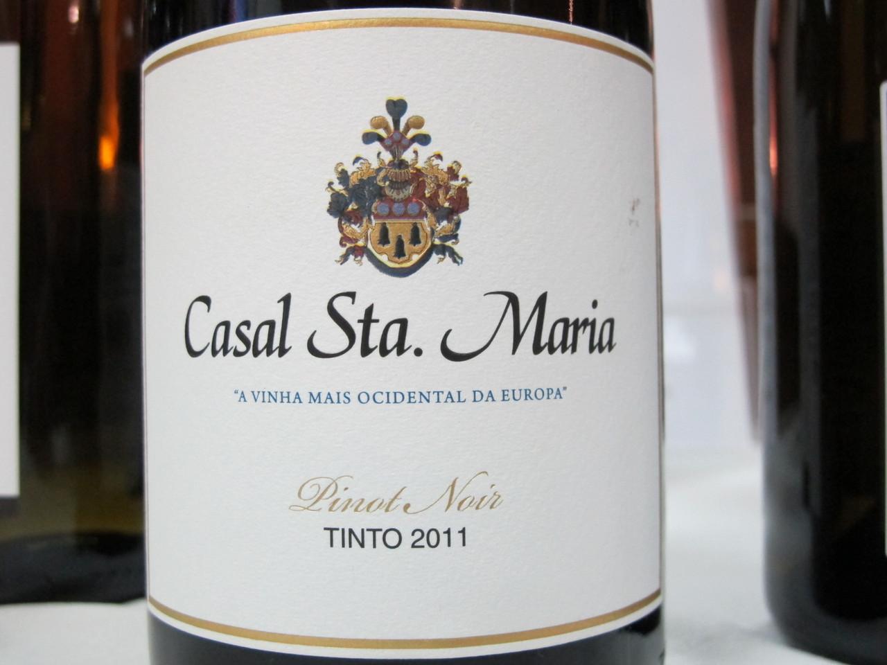 Casal Sta. Maria Pinot Noir .JPG