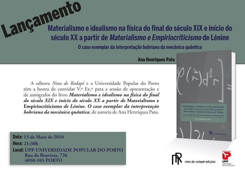 UPP Ana Pato cartaz