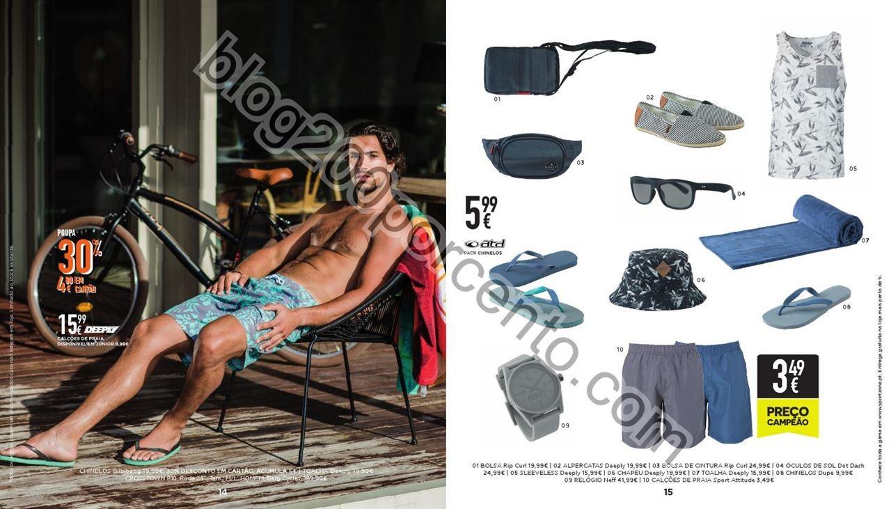 Antevisão Folheto SPORT ZONE Moda Verão de 25 ma