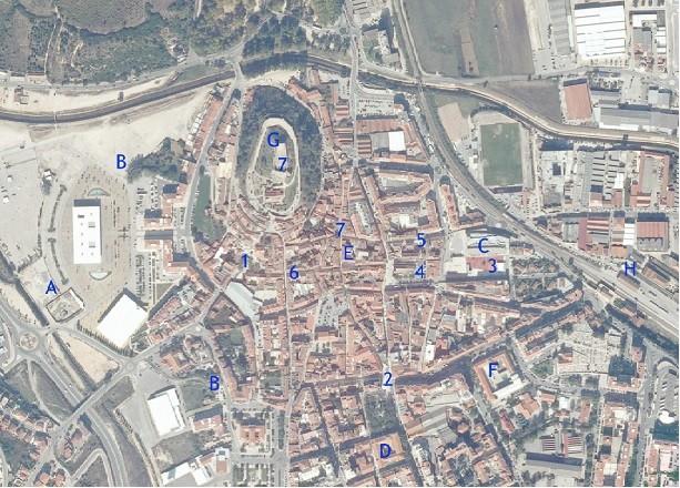 mapa da cidade de torres vedras Encontro de Desenho   mapa e referências   CCC SketchCrawl Torres  mapa da cidade de torres vedras