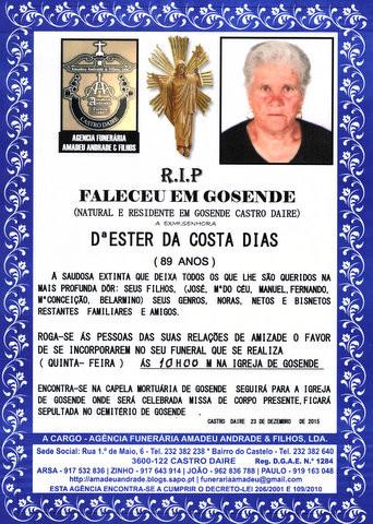 RIP- DE ESTER DA COSTA DIAS-89 ANOS.jpg