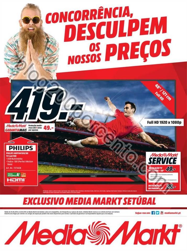 Novo Folheto MEDIA MARKT Setubal Promoções de 16