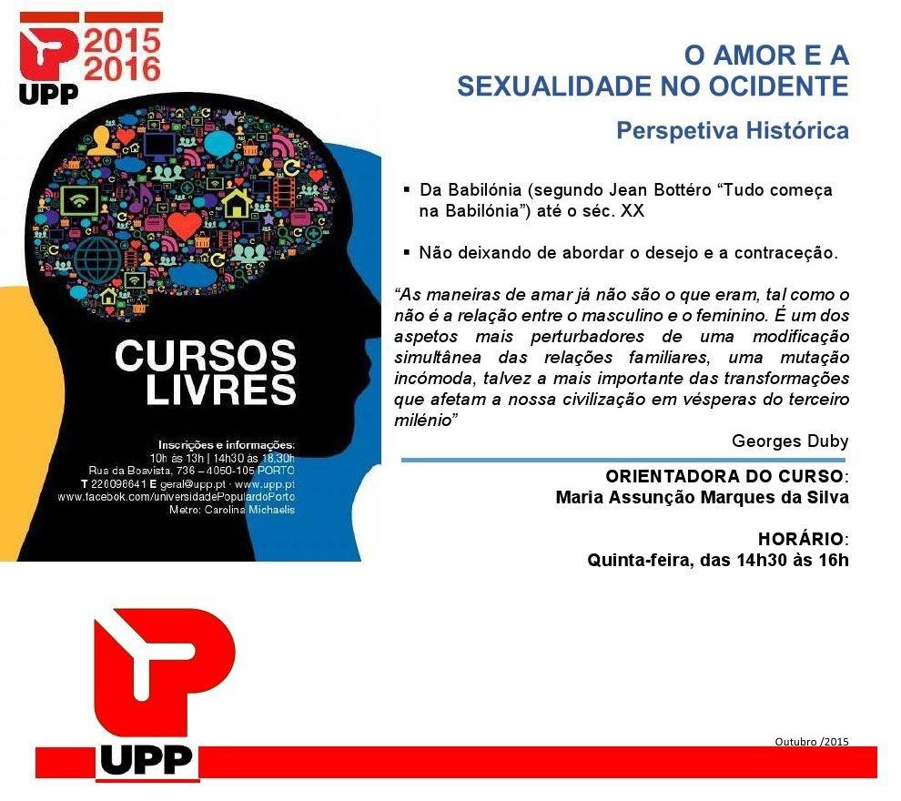 UPP amor e sexualidade