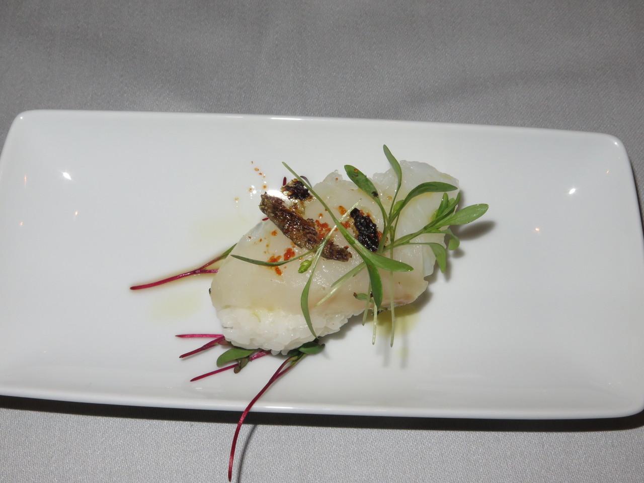 Nigiri de bacalhau