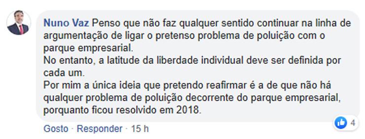 Comentário Nuno Vaz Chaves Cidade Linda nº 4 - p