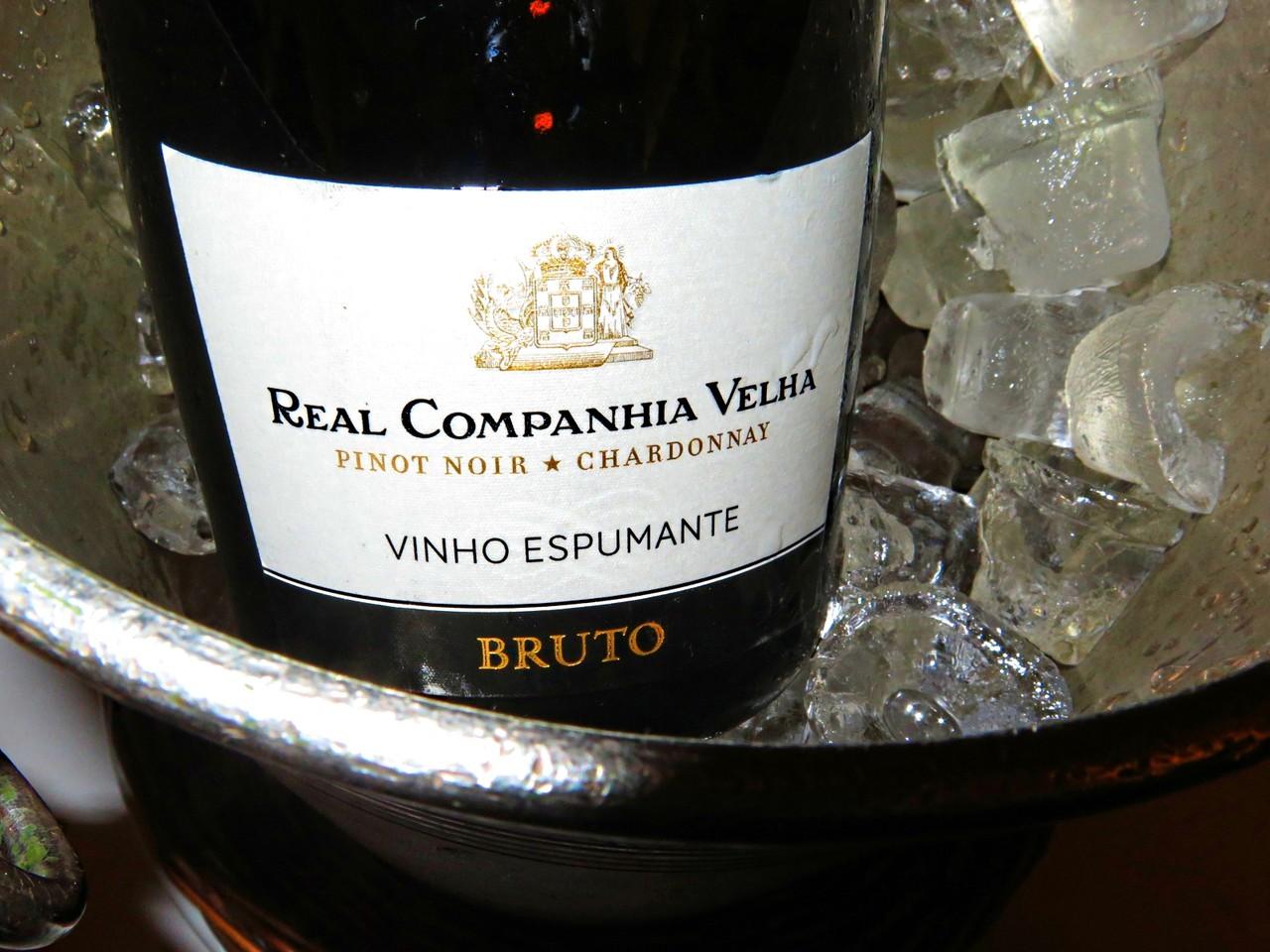 Real Companhia Velha Espumante Chardonnay & Pinot Noir Bruto 2013