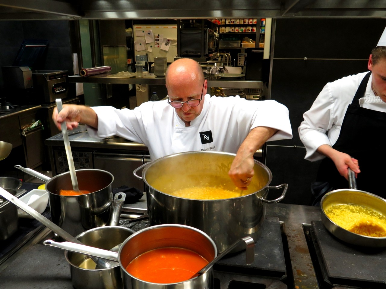 Heinz Beck e o risotto