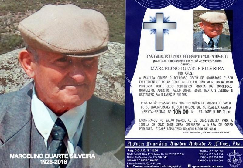 FOTO RIP DE MARCELINO DUARTE SILVEIRA-89 ANOS (CUJ