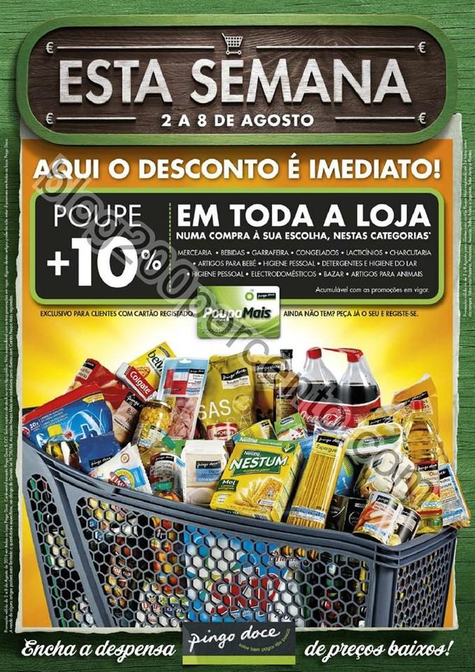 Antevisão Folheto PINGO DOCE Promoções de 2 a 8