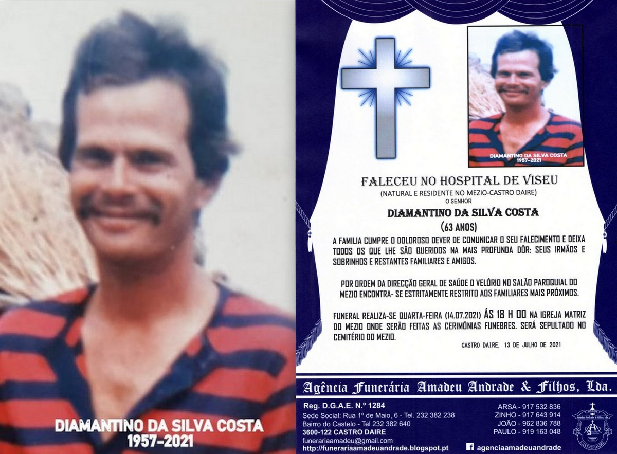 FOTO DE DIAMANTINO DA SILVA COSTA-63 ANOS (MEZIO).