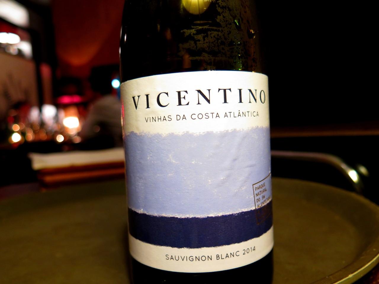 Vicentino Sauvignon Blanc branco 2014