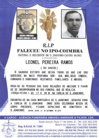 RIP- DE LEONEL PEREIRA RAMOS-50 ANOS(S.JOANINHO).j