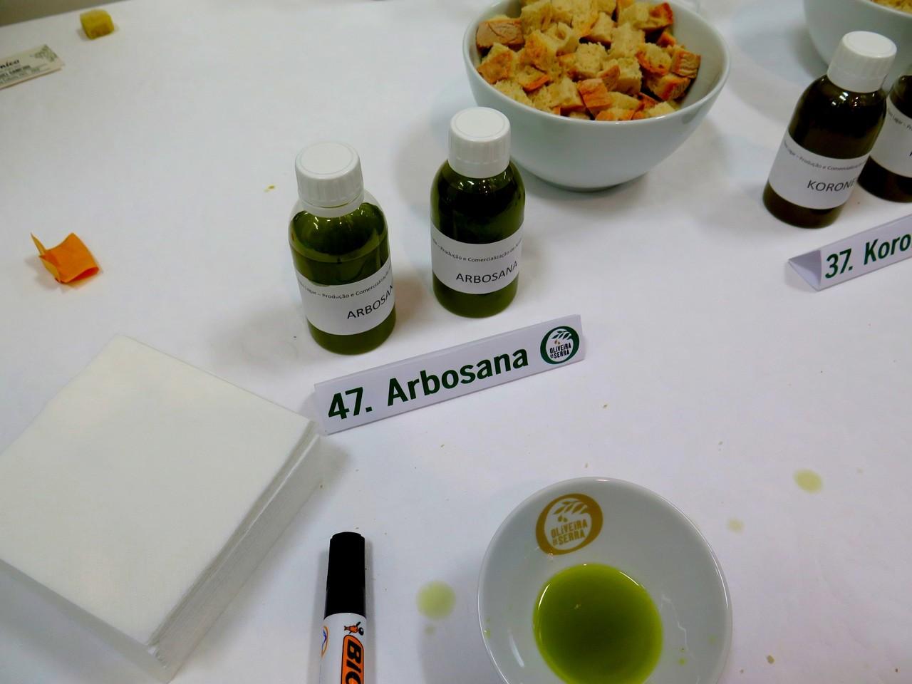 Amostra da variedade Arbosana
