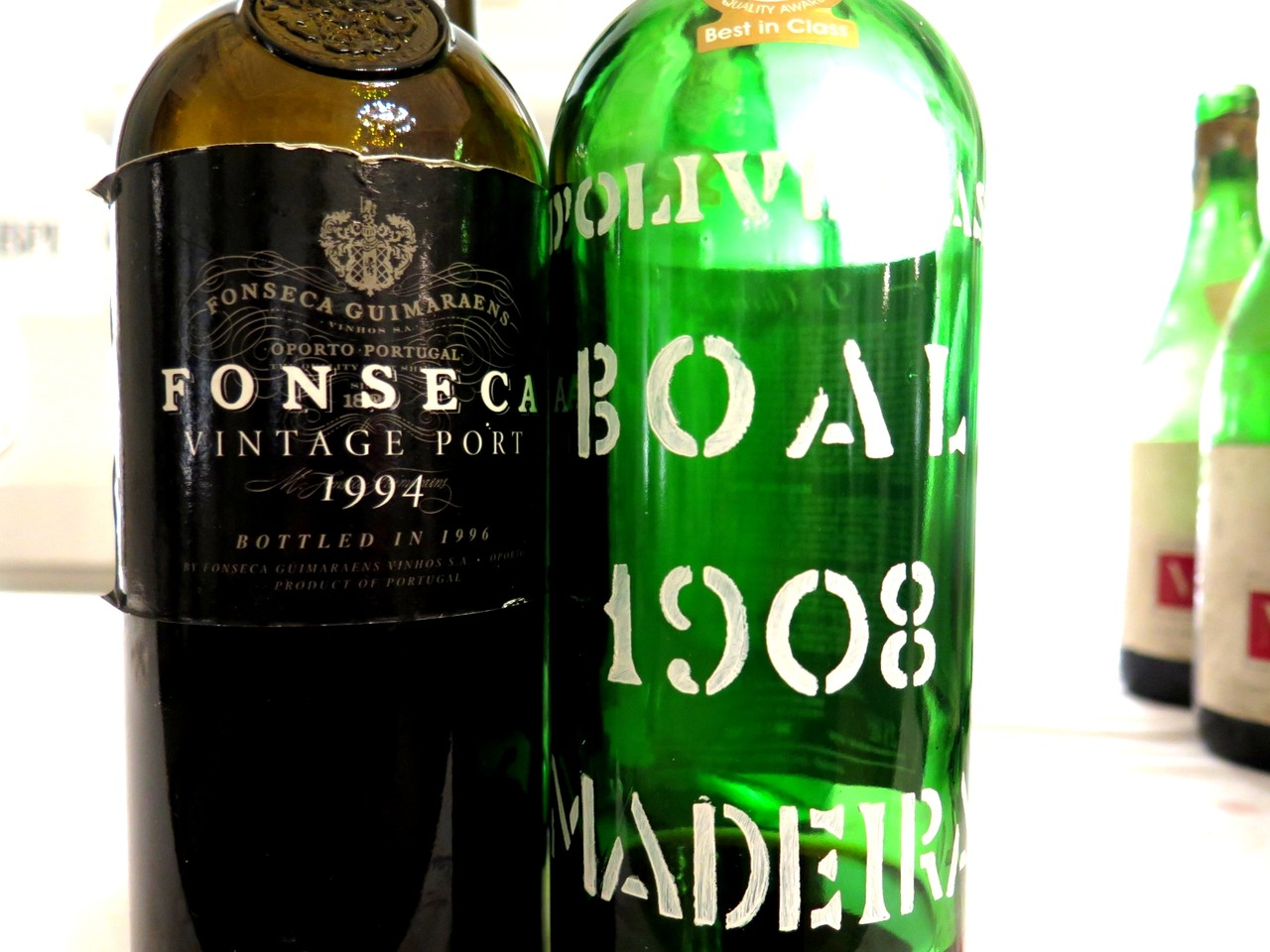 Fonseca Porto Vintage 1994 / D'Oliveira Boal 1908
